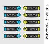website button set  vector... | Shutterstock .eps vector #585416018