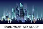 stock vector illustration... | Shutterstock .eps vector #585430019