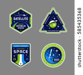 Set Of Space Mission Patch...