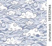 vector background seamless... | Shutterstock .eps vector #585520466