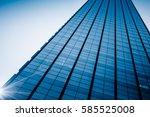 detail shot of high rise... | Shutterstock . vector #585525008