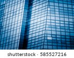 detail shot of high rise... | Shutterstock . vector #585527216