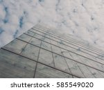 skyscraper buildings and sky... | Shutterstock . vector #585549020