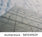 skyscraper buildings and sky... | Shutterstock . vector #585549029