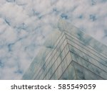 skyscraper buildings and sky... | Shutterstock . vector #585549059