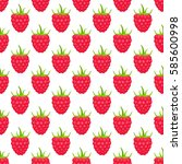 vector seamless pattern with... | Shutterstock .eps vector #585600998
