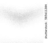 grunge halftone background.... | Shutterstock .eps vector #585611384