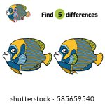 find differences  education... | Shutterstock .eps vector #585659540