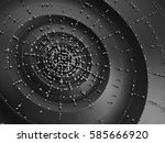 linking entities. abstract... | Shutterstock . vector #585666920