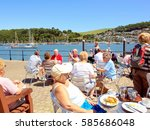 dartmouth  devon  uk. june 15 ... | Shutterstock . vector #585686048
