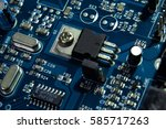 macro shot of symbol on...   Shutterstock . vector #585717263
