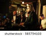 moscow   13 november 2015  ... | Shutterstock . vector #585754103