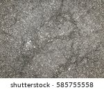 Small photo of asphalt texture with white dashed line