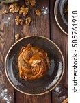 baklava  georgian dessert ... | Shutterstock . vector #585761918