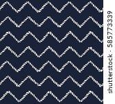 marine rope line seamless...   Shutterstock .eps vector #585773339