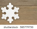 old fashion snowflake... | Shutterstock . vector #585779750