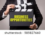 business opportunities | Shutterstock . vector #585827660