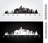 hong kong skyline and landmarks