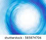 abstract composition   round on ... | Shutterstock .eps vector #585874706