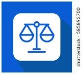 law scale vector icon  justice...