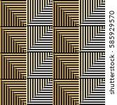 seamless vector abstract... | Shutterstock .eps vector #585929570