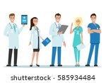 doctors team   Shutterstock .eps vector #585934484