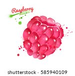 watercolor illustration of...   Shutterstock . vector #585940109