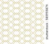 seamless linear geometric... | Shutterstock .eps vector #585955874