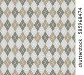 seamless argyle pattern...   Shutterstock .eps vector #585968474