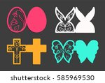Laser Cut Template For Easter...