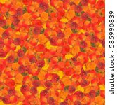 Autumn Seamless Background With ...