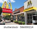 chicago  usa   june 28  2013 ... | Shutterstock . vector #586000214