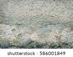 Old Concrete Wall Of The House...