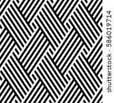 vector seamless pattern. modern ... | Shutterstock .eps vector #586019714