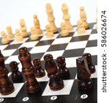 chess | Shutterstock . vector #586026674