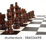 chess | Shutterstock . vector #586026698