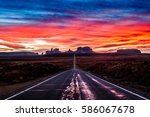 Road To Monument Valley...