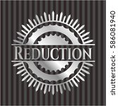 Reduction Silvery Shiny Badge
