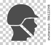 soldier helmet vector...