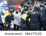 portland  or   february 21 ... | Shutterstock . vector #586175120
