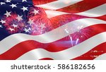 united states of america usa... | Shutterstock . vector #586182656