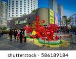 shenzen  china   29 january ... | Shutterstock . vector #586189184