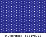 polka dot pattern vector.... | Shutterstock .eps vector #586195718