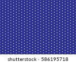 polka dot pattern vector....   Shutterstock .eps vector #586195718