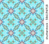 seamless patterns with bright... | Shutterstock . vector #586196918