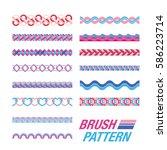 several line pattern. pastel...