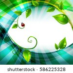 abstract nature background  | Shutterstock .eps vector #586225328