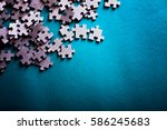 Incomplete Puzzles. Jigsaw...