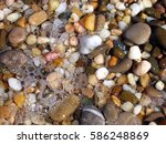 background from colorful sea... | Shutterstock . vector #586248869
