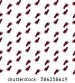 seamless pattern of human... | Shutterstock .eps vector #586258619